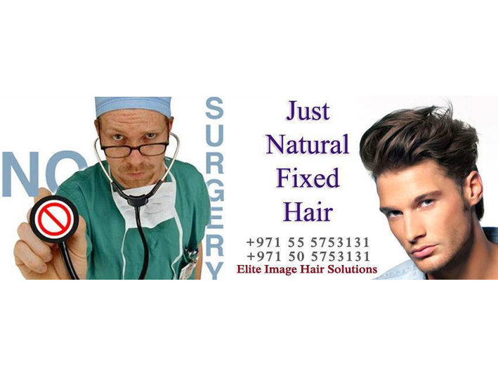 """Hair replacement and hair treatment """" Elite Image"""" - Wellness & Beauty"""