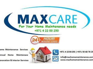 Max Care Home Maintenance Solutions Dubai - Painters & Decorators