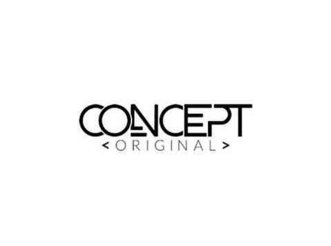 Concept Original - Webdesign