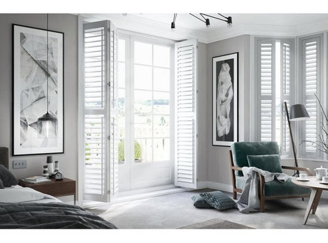 SHUTTERS DESIGN - Plantation Window Blinds - Windows, Doors & Conservatories