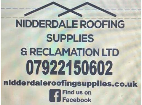 Nidderdale Roofing Supplies - Roofers & Roofing Contractors