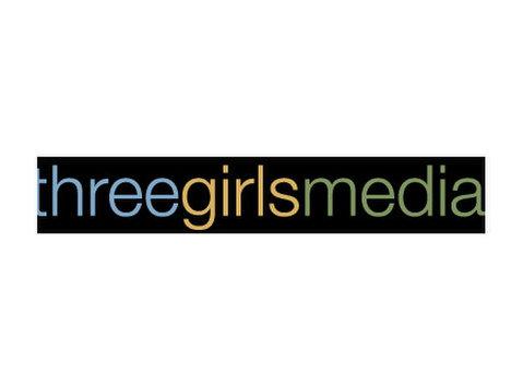 Three Girls Media - Webdesign