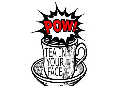 Pow! Tea in your face Ltd - Food & Drink
