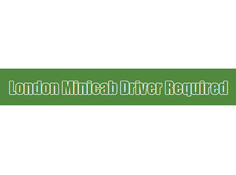 London Minicab Driver Required - Taxi Companies