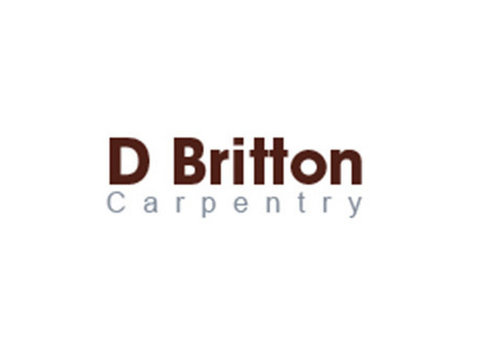 D Britton Carpentry - Carpenters, Joiners & Carpentry