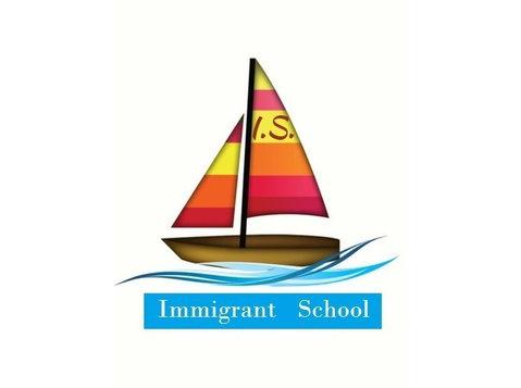 Andreea Iovita, Immigrant School - Volwassenenonderwijs