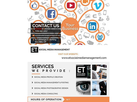 Social Media Management Agency East London - Advertising Agencies