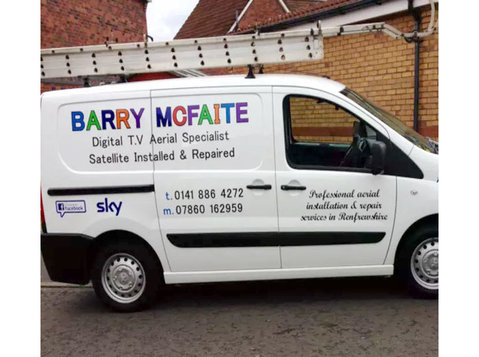 Barry mcfaite Tv aerials - Satellite TV, Cable & Internet