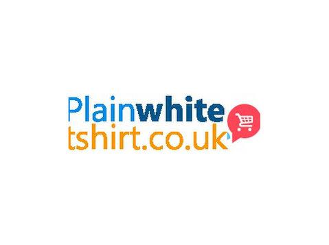 Plain White T-shirt UK - Clothes
