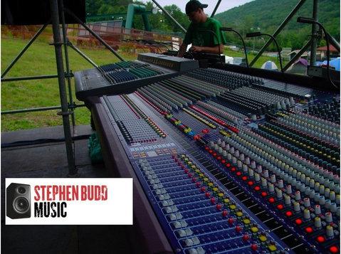 Stephen Budd Music - Music, Theatre, Dance