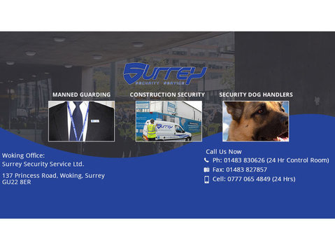 Surrey Security Services - Security services