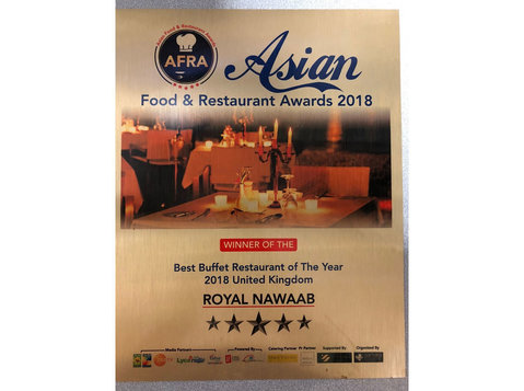Royal Nawaab Manchester - Restaurants