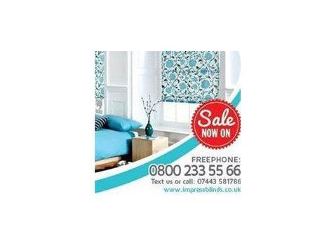 Impress Blinds Ltd - Home & Garden Services