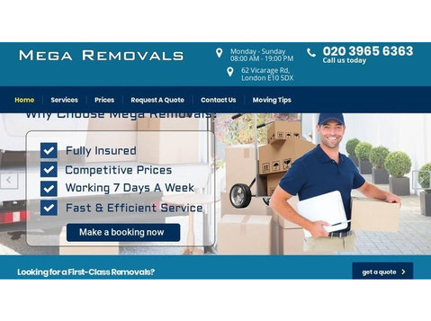 Mega Removals - Removals & Transport