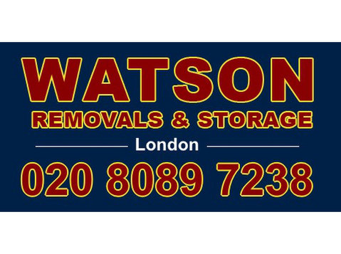 Watson Removals London - Relocation services