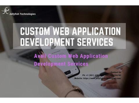 Mobile App Development Company - Jellyfish Technologies - Webdesign