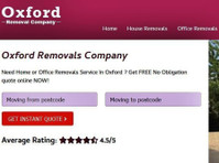 Oxford Removal Company (1) - Removals & Transport