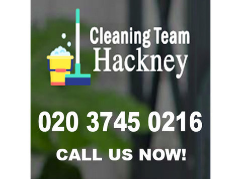 Cleaning Team Hackney - Cleaners & Cleaning services