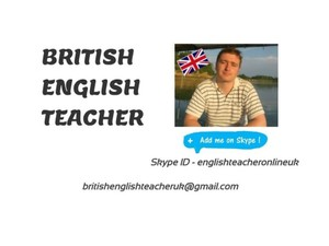 Alexander Goodman, British English Teacher Online - Online courses
