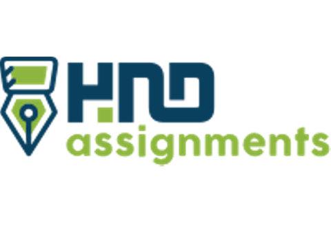 HND Assignments - Volwassenenonderwijs