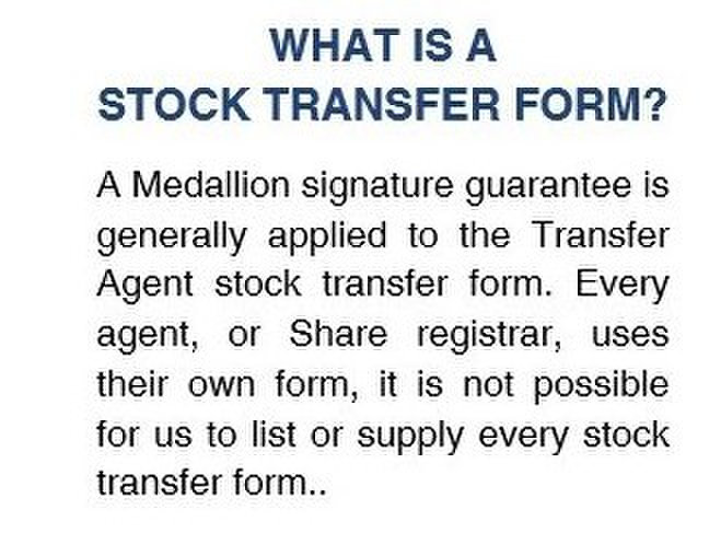 Medallion Signature Guarantee Business Networking In United Kingdom Business