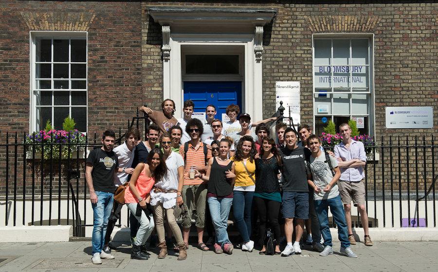 Bloomsbury international school of english adult for London school of english