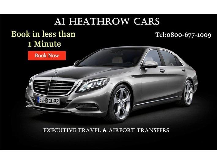 A1 Heathrow Cars Ltd. - Taxi Companies