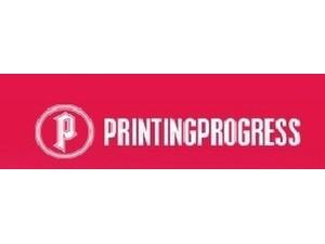 Printing Progress - Print Services