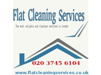 Flat Cleaning Services London - Cleaners & Cleaning services