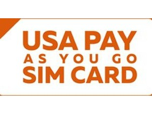 Usa Pay As You Go Sim Card - Mobile providers