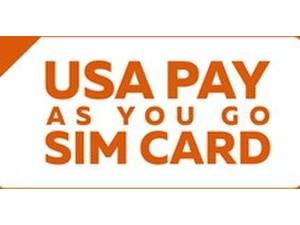 Usa Pay As You Go Sim Card - Mobile providers