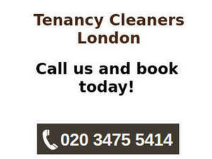 Tenancy Cleaners London - Cleaners & Cleaning services