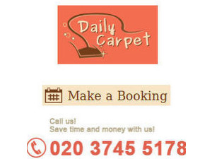 Daily Carpet Cleaning - Cleaners & Cleaning services