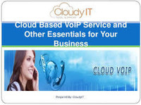 Cloud VoIP Service England | CloudyIT - Internet providers