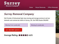 Surrey Removal Company (1) - Removals & Transport