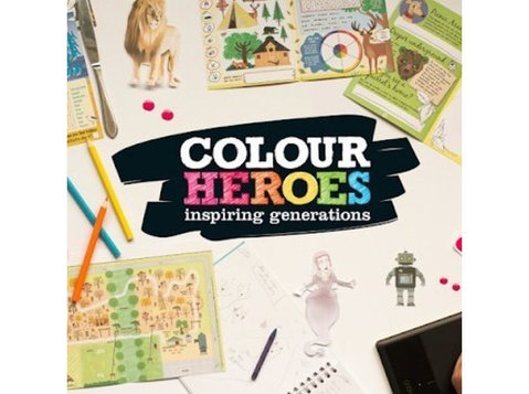 Colour Heroes Ltd - Books, Bookshops & Stationers