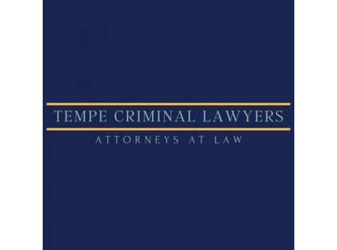 Tempe Criminal Lawyer - Lawyers and Law Firms