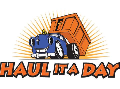 Haul it a Day - Отстранувања и транспорт