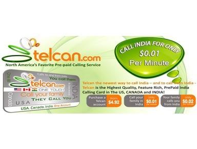 Telcan.com - A Service of GlobalTel - Mobile providers