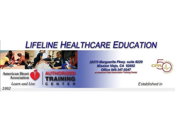 Lifeline Cpr and Healthcare Education - Health Education