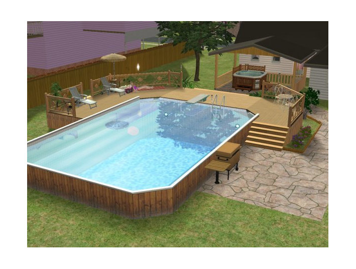 amazing above ground pool equipment #5: 7 The Pool Factory - Pool Supplies, Above Ground Pools - Swimming Pools u0026  Baths
