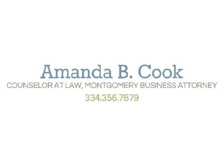 Amanda B. Cook, Counselor at Law - Commercial Lawyers