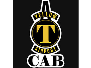 A Yellow Airport Cab - Taxi Companies
