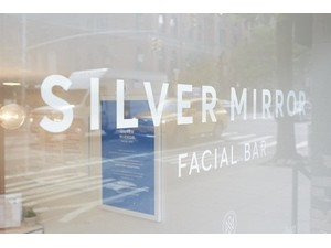 Silver Mirror Facial Bar - Wellness & Beauty