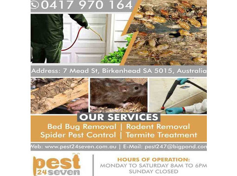 Pest 24 seven - Home & Garden Services
