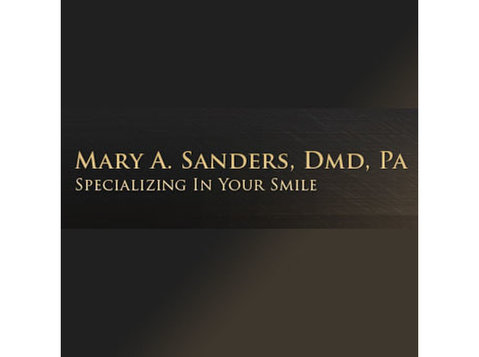 Mary A. Sanders, Dmd, Pa - Dentists