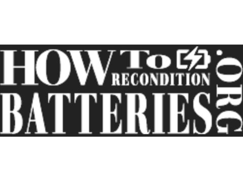 How To Recondition Batteries - Electrical Goods & Appliances
