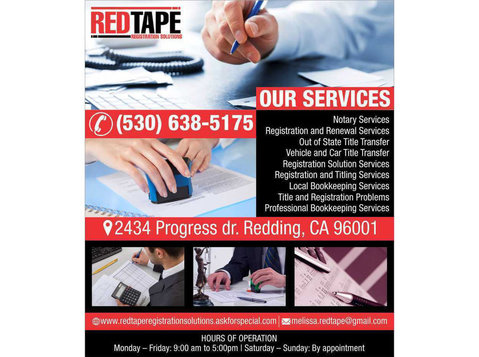 Red Tape Registration Solutions - Notaries