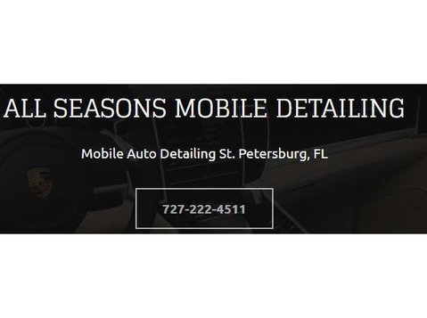 All Seasons Mobile Detailing - Car Repairs & Motor Service