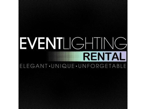 Event Lighting Rental - Electrical Goods & Appliances